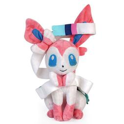 Pokemon Sylveon  Plush Doll Stuffed Animal Soft Figure Toy G