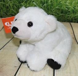 Baby Polar Bear Cuddlekin 8 by Wild Republic