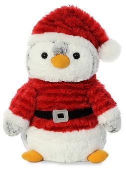 """Pom Pom Penguin Santa 11.5"""""""