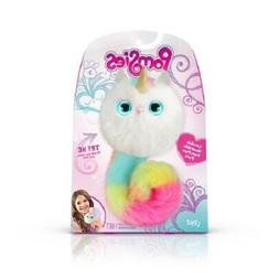 Pomsies Pom Pom Pet Luna Plush Interactive Toy - White with