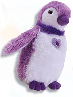 "The Petting Zoo Posh Plush 12"" Purple Penguin"