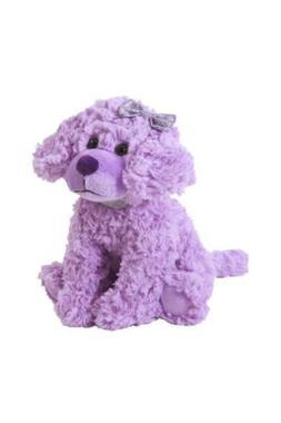 The Petting Zoo Posh Plush Purple Scruffy Dog - 11 Inches A3