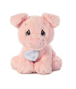 Aurora Precious Moments Bacon Piggy 8 Inch Stuffed Plush Ani