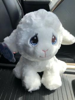 "Precious Moments little plush lamb sheep 2017 Aurora 8"" seat"
