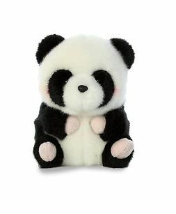 Precious Panda Rolly Pet 5 inch - Stuffed Animal by Aurora P