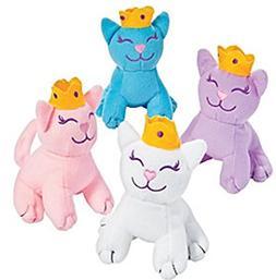 Princess Kitties, Plush Stuffed Cats, One Dozen Kitten Party