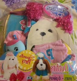 Pucci Pups Sports Party Outfits Clothes 2 Outfits with Acces