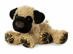 Aurora Pug Big Paws 13 Inch - Stuffed Animal by Plush New wi