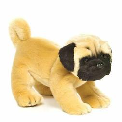 Nat and Jules Standing Large Pug Dog Children's Plush Stuffe