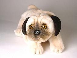 Pug Puppy by Piutre, Hand Made in Italy, Plush Stuffed Anima