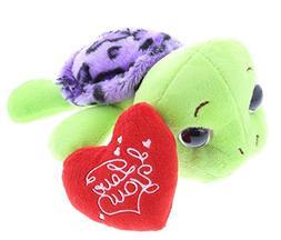 Dollibu Purple Sea Shell Sea Turtle Big Eye I Love You Valen