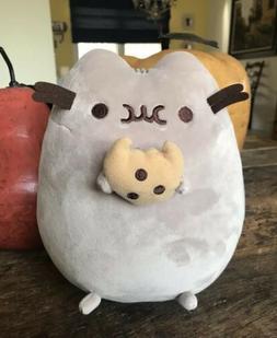 """GUND Pusheen Cat Plush Cookie Gray Soft 9"""" Stuffed Animal 20"""