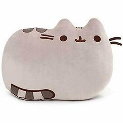 Plush Pillows GUND Pusheen Cat Stuffed Animal Pillow, Gray,