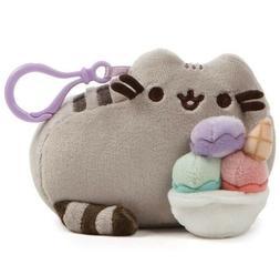 GUND Pusheen Snackable Sundae Cat Plush Stuffed Animal Backp