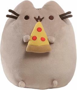 "GUND Pusheen Snackables Pizza Plush Stuffed Animal Cat, 9.5"""