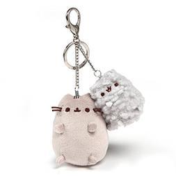 GUND Pusheen and Stormy Deluxe Stuffed Animal Plush Keychain