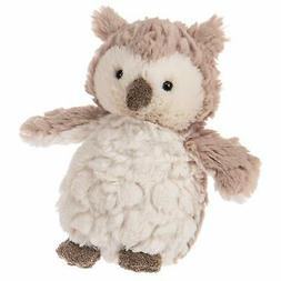 """Mary Meyer Putty Stuffed Animal Soft Toy, Puttling Owl, 6"""""""