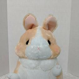 Amuse Rabbit Plush Stuffed Animal White Beige-Peach Bunny La