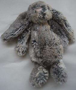 Jellycat Rabbit Woodland Babe Plush Stuffed Animal Gray Brow
