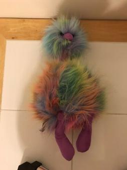 """Jellycat Rainbow PomPom Plush 13"""" Soft Stuffed Animal Toy Cu"""