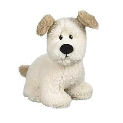 "Ralph the Dog 9"" White Plush Stuffed Animal by Ganz"
