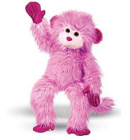 "Douglas Cuddle Toys Raspberry Swirl Monkey, 27"""