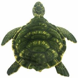 TAGLN Realistic Stuffed Animals Green Sea Turtle Lifelike Pl