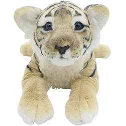 TAGLN Realistic the Jungle Animals Stuffed Plush Lifelike To