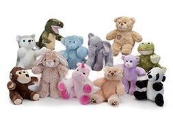 """Lot of 10 Recordable 8"""" Plush Stuffed Animals ; Ultrasound B"""
