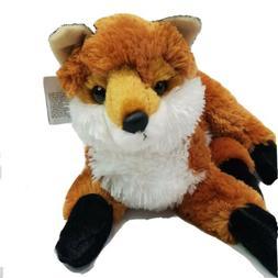 """Aurora Red Fox Soft Plush Fluffy Stuffed Animal Toy 11"""" Medi"""