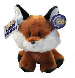 "Aurora Red FOX Wobbly Bobblees 6"" Plush Stuffed Animal NEW"