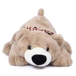 resting teddy bear soft stuffed