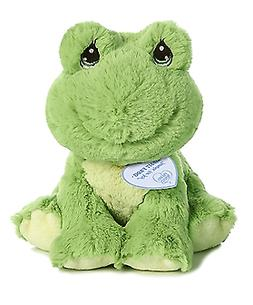 "Aurora World Precious Moments Stuffed Animal, Green, 8.5"""