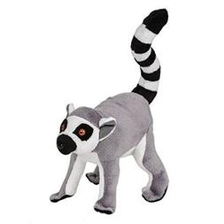 "7"" Ringtail Lemur Plush Stuffed Animal Toy"