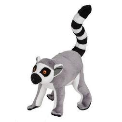 Ringtail Lemur Pounce Pal Plush Stuffed Animal