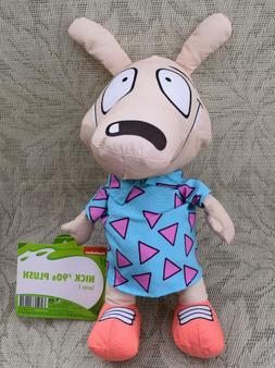 Rocko's Modern Life Nickelodeon Stuffed Animal Plush Origina