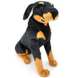 VIAHART Rodolf The Rottweiler | 15 Inch Large Dog Stuffed An