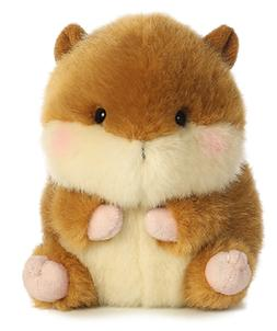 5 Inch Romper Chipmunk Rolly Pet Plush Stuffed Animal by Aur