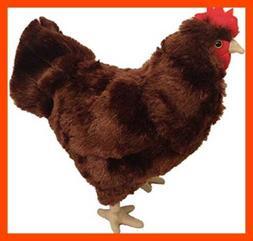 """ADORE 12"""" Rosie the Hen Chicken Stuffed Animal Plush Toy"""