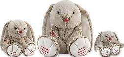 Kaloo Rouge Sandy Beige Rabbit Soft Toy Lapin Plush Baby/Chi