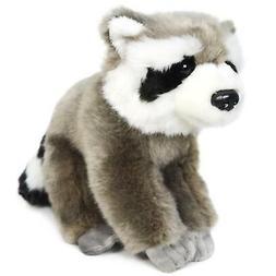 roux the raccoon 7 inch stuffed animal