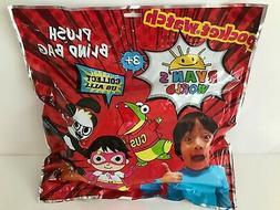 Ryans World Mystery Blind Bag w/Plush. New. Stuffed Animals