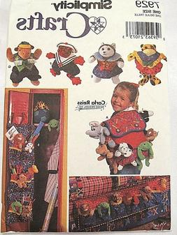 S7929_Stuffed Animal Doll Clothes & TOY Storage Accessories