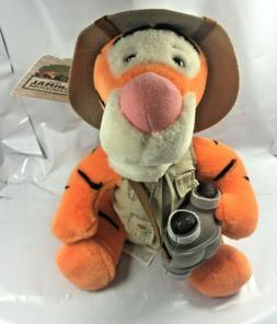 Safari Tigger Plush Walt Disney World with Complete Outfit a