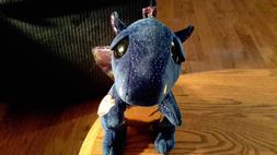 "Ty 9"" Saffire Medium Blue Dragon Beanie Boos Plush Stuffed A"
