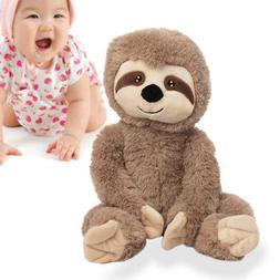 "Gitzy Sammy Sloth Stuffed Animal 18"" Large Plush Toy For B"