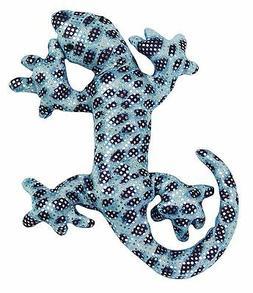 Sand Filled Stuffed Animals, 6 Inch Sand Filled Blue Glitter Plush Gecko