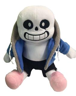 Undertale Sans Plush Stuffed Doll Toy Pillow Hugger Cushion