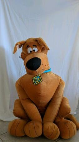 Scooby-doo Stuffed Animal 4 feet tall Life size 48 inches ta