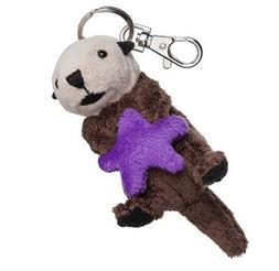"Sea Otter Plush Keychain 4"" Stuffed Animal House Brand NEW"